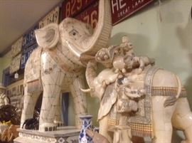 Asian Elephant Large Display Pieces