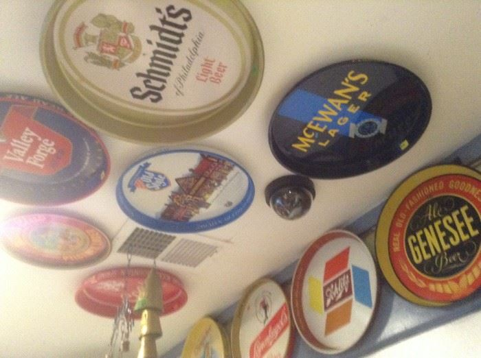 Vintage Beer Trays from around the Country and World