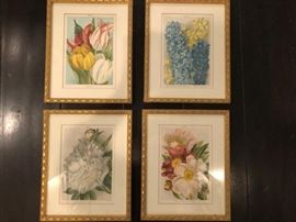 four flower pics