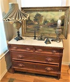 Marble Chest