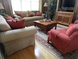 beautiful living room - Clayton Marcus sofas