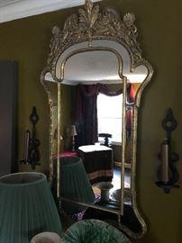 The most beautiful early 20th century Italian mirror