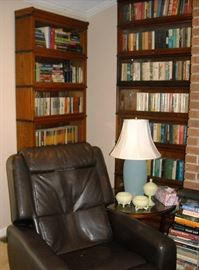 Nice leather lift chair.