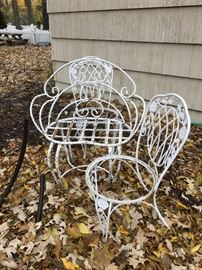 Vintage wrought iron
