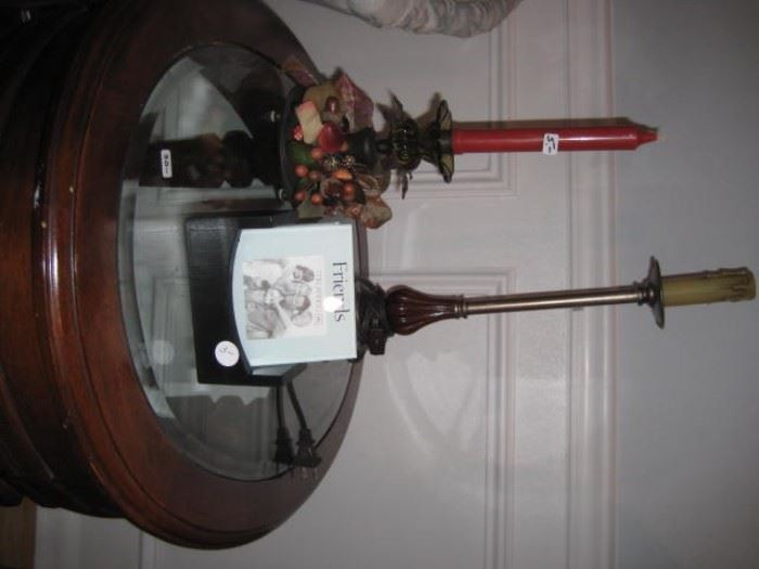 End Table Candlesticks