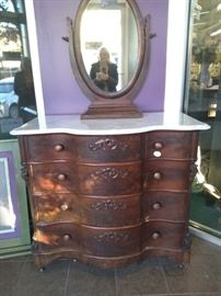 WONDERFUL DRESSER, CA 1840-60, AMERICAN MADE, WAS $750 NOW $200.