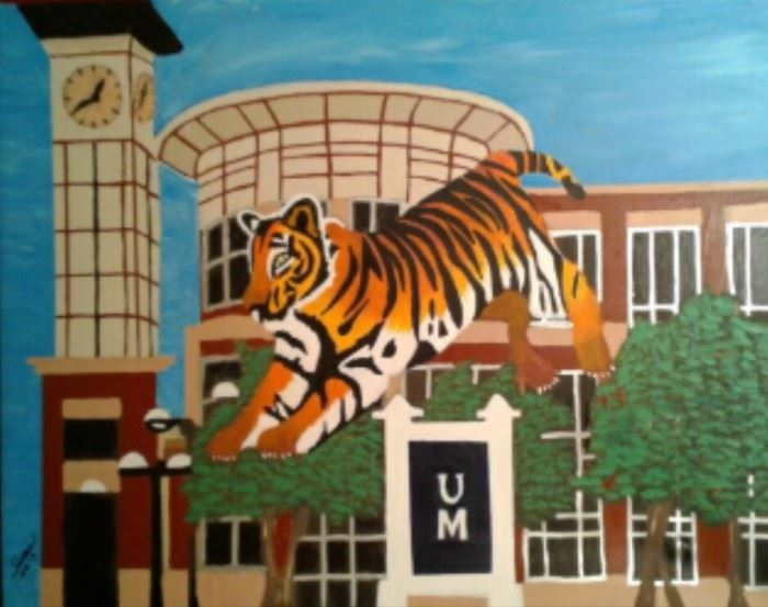 3 University of Memphis 1 6 x 20 3 Starting Bid $335