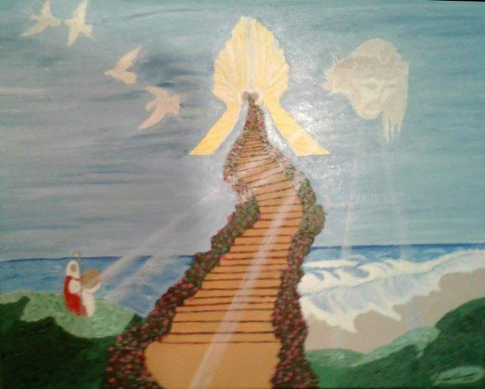 5 Stairway to Heven 5 24 X 30 Starting Bid $100