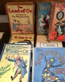 Early Wizard of Oz Books set of 13