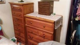 tall dresser & lingerie chest