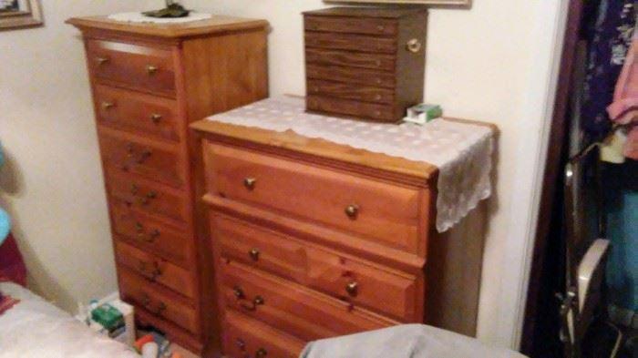 tall dresser & lingerie chest