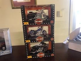 Harley Davidson Collector Motorcyle  Toys
