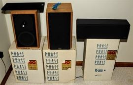 PHASE TECH SPEAKERS