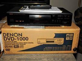 DENON DVD 1000   DVD PLAYER