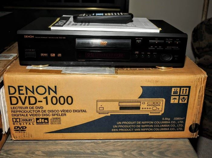 DENON DVD 1000   DVD PLAYER