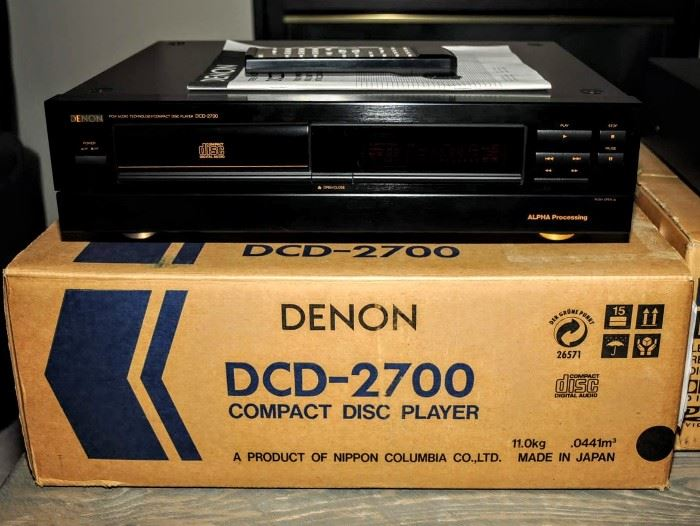 DENON  DCD 2700 COMPACT DISC PLAYER