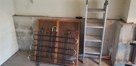 ladder and bike rack