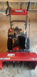 "Craftsman 9HP 28"" snowblower electric start"