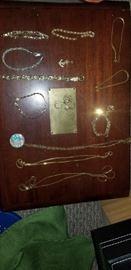 10-18k gold jewelry