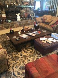 Huge living room coffee table