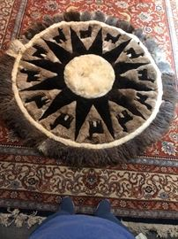 beautiful Llama rug or wall hanging
