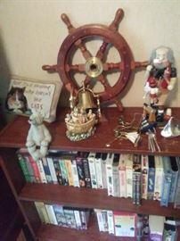 Ship wheel sold