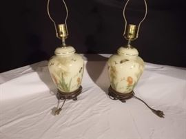 Beautiful Oriental Décor Lamps