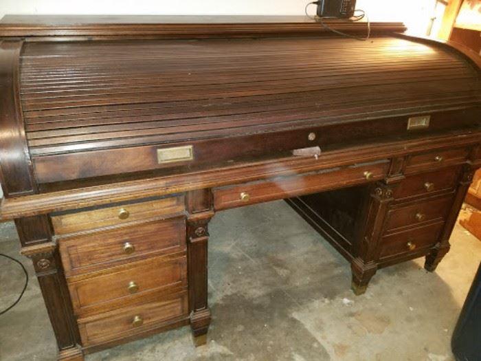 Very large rolltop desk.