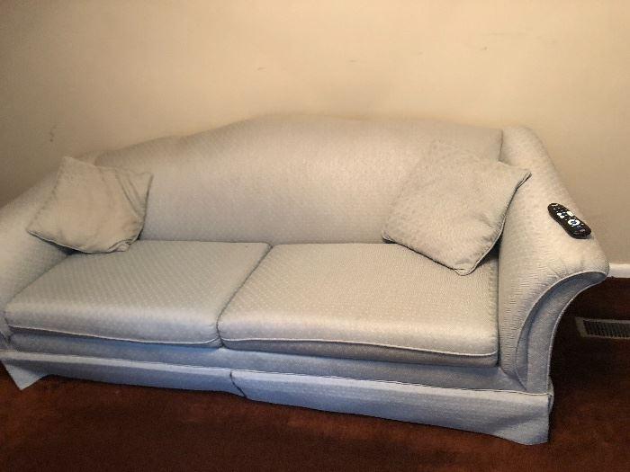 Blue Sofa $35