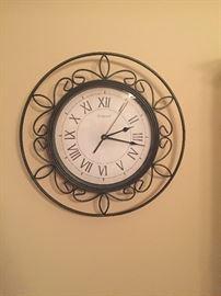 Wall clock $25