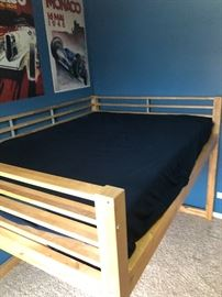 loft bed and mattress