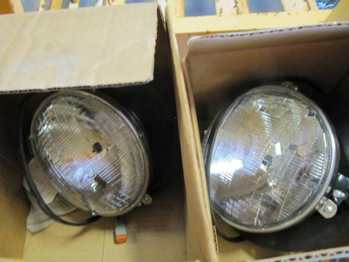 2 NEW T2000 Left hand LG Halogen HDLMP