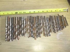 42 PC Drill Bits Various Sizes Shop Tools