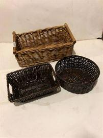 Trio of Baskets