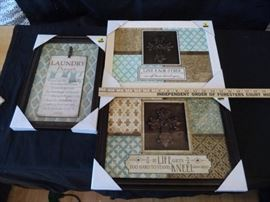 3 Brand New Decorative Pictures