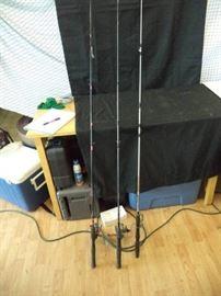 3 Fishing Poles
