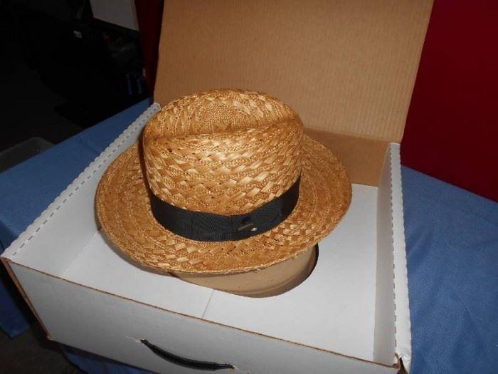 1 Mens Size 7 Straw Hat