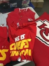 Chiefs Shirts, Pillows, Bags Lot