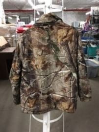 Camo Zippered Coat