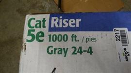 Cat 5e wire