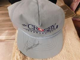 Johnny Bench Autographed Cap