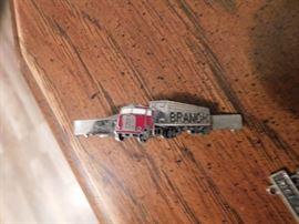 Vintage Branch Trucking Tie Bar