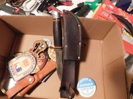 Schrade Walden Sheath Knife