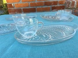 vintage Homestead luncheon sets