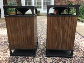 vintage stereo speakers