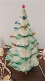 Small Blow Mold Christmas Tree