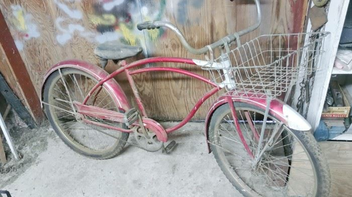 Old Columbia Newsboy Special Bicycle
