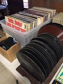 Assorted Records Albums(78's, LP's, 45's)