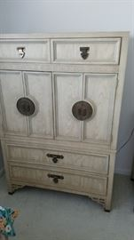 Door Chest - Shangri-La Collection by Dixie Furniture.