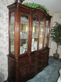 CHINA CABINET AND LISMORE WATERFORD